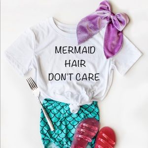 Other - Mermaid Hair Dont Care T-shirt